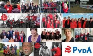Collage posters raadsverkiezingen 2014