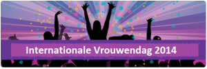 Logo Vrouwendag 2014