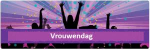 Logo Vrouwendag 2014 (alleen 'Vrouwendag')